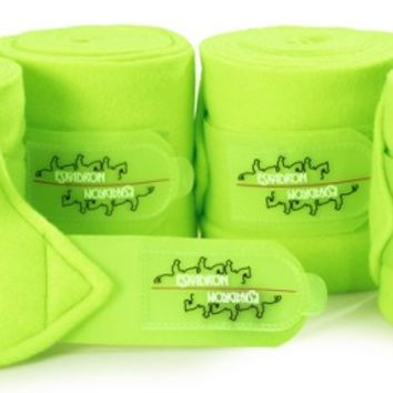 Eskadron Fleece Bandages Neongreen | Ooteman Equestrian
