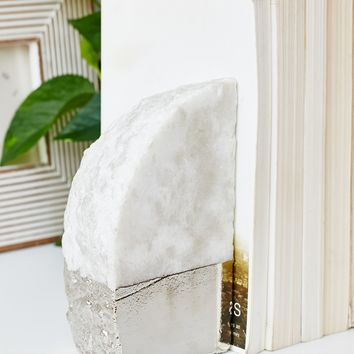 Free People Marble Bookends Set
