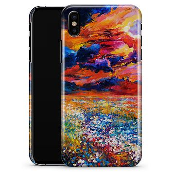 Oil Painted Meadow - iPhone X Clipit Case