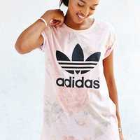 adidas Originals Pastel Rose Tee - Urban Outfitters