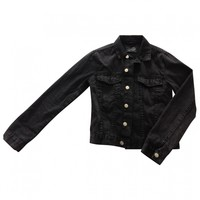 Black denim / jeans jacket CHEAP MONDAY Black