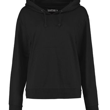 Evelyn Basic Oversized Hoody | Boohoo