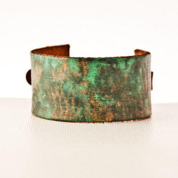Leather Buckle Cuffs Bracelets - Gift Ideas - Christmas - Holidays - December Finds Handmade Jewelry HANUKAH SALE