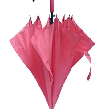 Pink Flamingo Umbrella