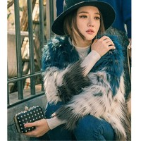 Daisy Shaggy Faux Fur Coat