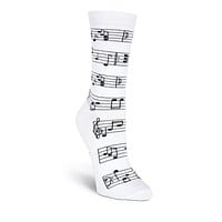 Making Music Crew Socks
