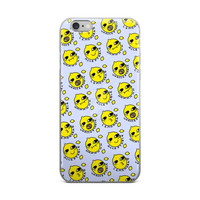 Lemon Grab Collage iPhone 4 4s 5 5s 5C 6 6s 6 Plus 6s Plus 7 & 7 Plus Case