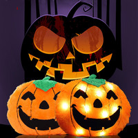 Colorful Luminous Plush Halloween Pumpkin Pillow Toys Flashing Led Light Luminous Pillow Toys Gift for Kids Light Up Room-in Light-Up Toys from Toys & Hobbies on Aliexpress.com | Alibaba Group