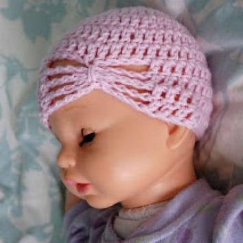 Baby Girls/Twins Butterfly Hat Crochet Hat Baby Beanie Baby Shower Gift Baby Hats Toddler Hats - Newborn to 4T