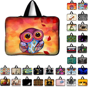 "Laptop Sleeve Tablet Case Notebook Protective Cover For 7 10 12 13 14"" 15 15.6 17 inch Briefcase For Asus HP Acer Lenovo"