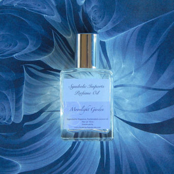 Moonlight Garden Perfume Oil - Lavender, Oakmoss, Musk - 15mL