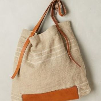Rissetto Washed Linen Tote