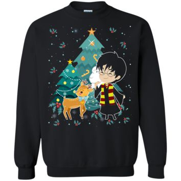 Harry Potter Tree Ugly Christmas Sweater Perfect Christmas Gifts