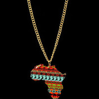 Africa Statement Necklace from Chaussure Boite by B. Ayesha