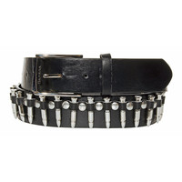 Blue Banana Bullet Belt Medium/Large (Black)