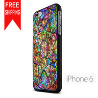 Character Disney Stained Glass S Wwn iPhone 6 Case
