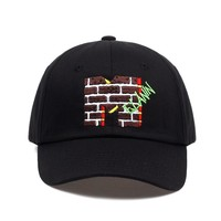 Trendy Winter Jacket 2018 new brand Melanin Embroidery Dad Hat men women slouch Cotton Baseball Cap curved bill ADJUSTABLE BUCKLE RETRO SUMMER AT_92_12