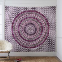 Printed Tapestry, Purple/Red