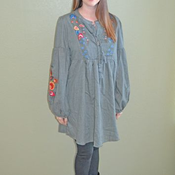 So Smitten Embroidered Dress