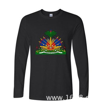 Haiti Long Sleeve T shirt
