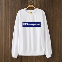 Champion Woman Men Flower Top Sweater Pullover