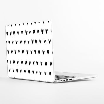 Inked Hearts Laptop Skin