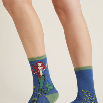 Mermaid Amour Socks