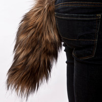 Faux Fur Coyote Tail by wompawear on Etsy