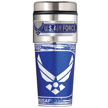Us Air Force 16 Oz. Thermal Mug