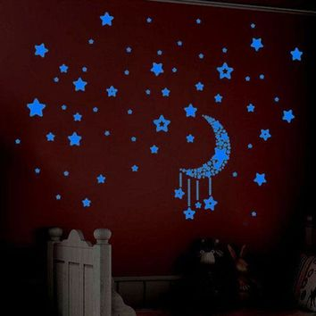 ICIKU7Q wall stickers home decor Glow In The Dark Stars 3d movie wall stickers room decorations Wall Decals adesivo de parede