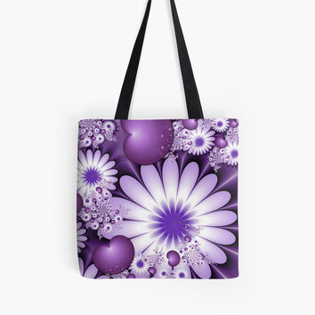 'Falling in Love Fantasy Fractal Art' Tasche by gabiwArt
