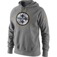 Nike Fly Over (NFL Steelers) Men's Hoodie Size XL (Grey)