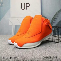 Air Jordan 18 Retro Orange Suede - Best Deal Online