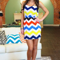 Color Me Chevron Dress