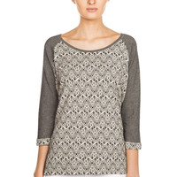 Damen Knit Top