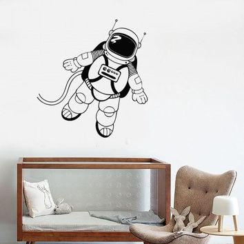 Wall Decal Astronaut Space Universe for Kids Room Vinyl Stickers Unique Gift (ig2816)