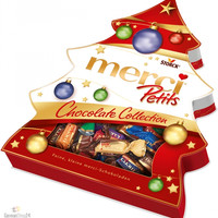 merci Petits Chocolate Collection, Christmas Tree, 7.05 oz