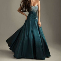 2013 Elegant Long Prom Dress Ball gown Evening Dresses Cocktail dresses