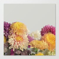 Mums the Word Canvas Print by All Is One