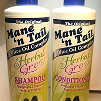 Mane 'n Tail Herbal Gro Shampoo & Conditioner Olive Oil Complex 12 oz