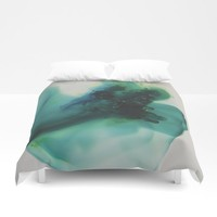 Anahata (Heart Chakra) Duvet Cover by duckyb