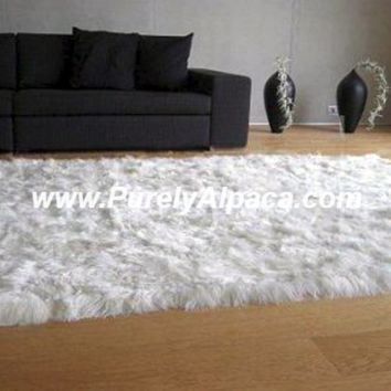 Alpaca Fur Rugs - Rectangular - Suri
