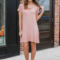 Wild Hearts Dress - Light Coral