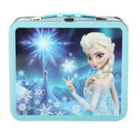 Frozen Elsa Metal Lunch Box