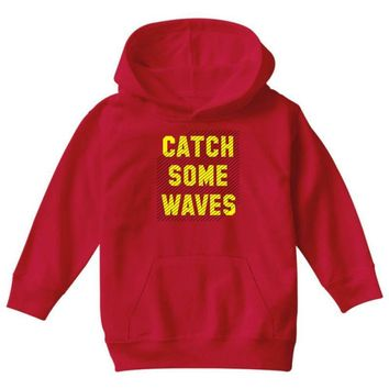 Catch Some Waves Youth Hoodie