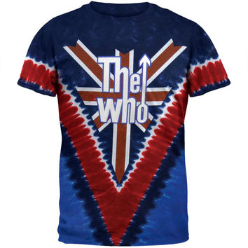 The Who - Long Live Rock Tie Dye T-Shirt