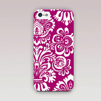 Floral Phone Case For - iPhone 6 Case - iPhone 5 Case - iPhone 4 Case - Samsung S4 Case - iPhone 5C