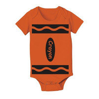 Baby Crayon Baby One Piece