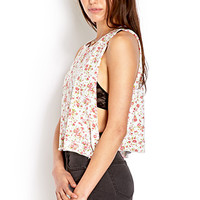 Field of Flowers Muscle Tee