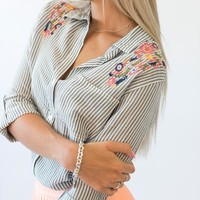 Spencer Embroidered ButtonDown